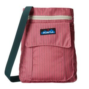 Kavu Cross body in Pink Slash